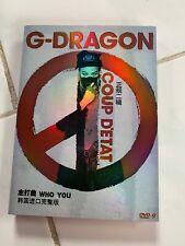 Kpop Korean Pop Big Bang G-Dragon Coup D'etat Who You Themed MV DVD