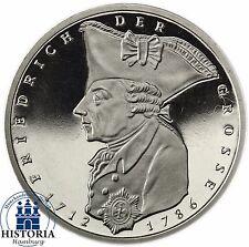 Deutschland 5 DM 1986 Friedrich der Große Spiegelglanz Münze in Münzkapsel