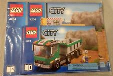 Lego CITY Instruction Manual Only NEW Sealed Plastic #4204The Mine Bks. 1-2-3-4