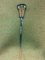 K) University of Virginia UVA Cavaliers Women's Lacrosse Game Used DeBeer Stick
