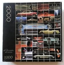 Springbok Classic Cars 2000 Interlocking Pieces. Complete Jigsaw Puzzle