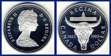 1 SILVER DOLLAR / 1 DÓLAR DE PLATA. CANADA.1982. REGINA. PROOF.