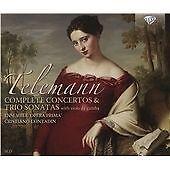 Telemann: Complete Concertos & Trio Sonatas with viola da gamba (2015)