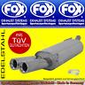 FOX ENDSCHALLDÄMPFER VW Sharan 7M ab 11/1995 2x80 2.0l 2.8l 1.9TDI