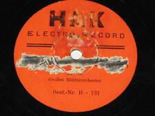 78rpm/HAK Electro Record 131/MARSCH MILITÄRORCHESTER/6271 - ANSEHEN