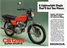 Cb honda 1975 repair motorcycle manuals and literature ebay 1975 honda cb125sj 2 pg motorcycle brochure nos fandeluxe Image collections