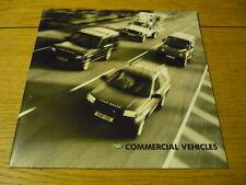 Land Rover Publicidad Folleto 2002 Jm