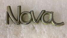 vintage Chevrolet Nova emblem ornament metal Chevy  327565 nameplate trim