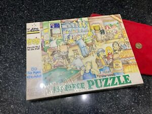 """John Sands Vintage 150 piece puzzle Aussies at Play No 1 """"At the Pub"""" Sealed NM"""