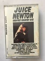 Greatest Country Hits Juice Newton Tape Cassette