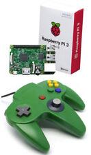 Para Nintendo 64 n64 juego de control analógico Pad Retropie Frambuesa Pi3 Pc Mac