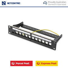 12 Port Blank Patch Panel for Server/ Switch Rack Mount