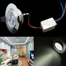 White 3W LED Ceiling Recessed lights Downlight Lamp Spot Light With Driver
