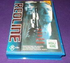 REDLINE VHS PAL RUTGER HAUER