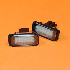 LED License Plate Light Lamp No Error For Mercedes Benz C-Class C230 C280 C350