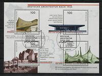 Bund Block 37 gestempelt Bonn ESST BRD 1906 - 1909 Ersttags Sonderstempel used