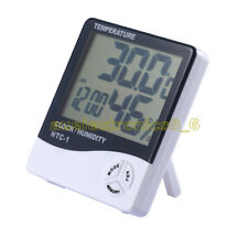 Thermometer Hygrometer Weather Station Temperature Humidity Desk Alarm Clock AU