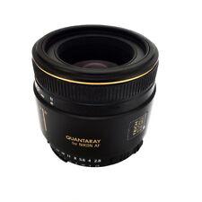 Quantaray 50mm 1:2.8 Macro D Lens for Nikon D80 D90 D100 D200 D300 D700
