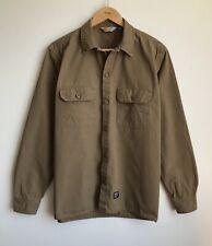 Carhartt  L/S MISSION SHIRT Mens Size L COMBAT Brown 100% Cotton