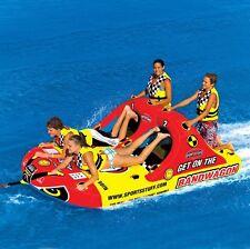 New Sportsstuff Towable Boat Tube 1-4 Rider BANDWAGON 2+2 531620