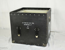 British Army - Military - 1996 ArunFabs Leather Transport Storage Case Box