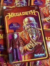 Super7 Heavy Metal  Megadeth Vic Rattlehead ReAction Action Figure Megadeath