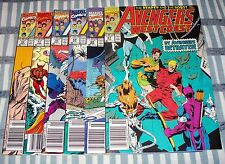 Lot of 6 THE WEST COAST AVENGERS from #67 - 72  All with Mark Jeweler Inserts
