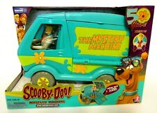 Scooby-Doo! 50 Years The Mystery Machine Van Fred Action Figure Toy Playset Lot