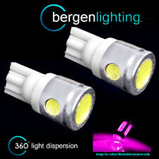2X W5W T10 501 XENON PINK 3 LED SMD SIDELIGHT SIDE LIGHT BULBS HID SL101105