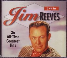 JIM REEVES All Time Greatest 3CD  aNTHOLOGY FOUR WALLS HE'LL HAVE TO GO Rare