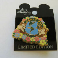 Disney Earth Day Chip Dale Flowers LE Pin