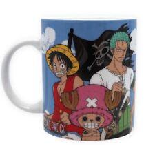 One Piece-Céramique Tasse-chapeau de paille Pirates Bande & LOGO-Boite Cadeau