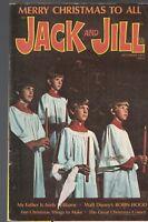 Jack and Jill Magazine December 1973 Walt Disney Robin Hood Andy Williams