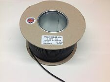 5mtr PIATTO Twin Core Automotive Cavo 1mm2 16Amp (parete sottile)