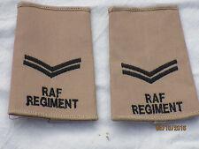 Boucles de Grade GB : Corporal, Royal Air Force, kaki