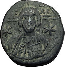MICHAEL VII Ducas 1071AD JESUS CHRIST Follis LARGE Ancient Byzantine Coin i63505
