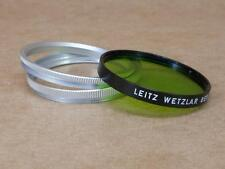 Leitz Leica 43mm (Summilux) 14117 Adapter + 13014 Green Series VI filter