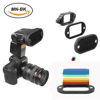 Selens  Magnetic Honeycomb Grid Spot Filter Set For Nikon Canon Flash Speedlite