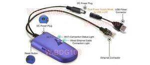 Wired Ethernet To Wireless Wi Fi Adapter For TV DVR Game Console Printer
