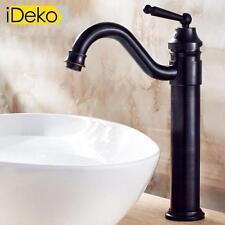 Robinet lavabo salle de bain robinet de cuisine haut de bec noir vasque