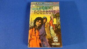 VINTAGE BOOK BLAISE CENDRARS L'HOMME FOUDROYE 1945 EDITIONS DENOEL PARIS