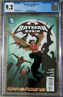 Batman And Robin #10 CGC 9.2 DC Comics 2012