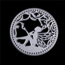 New listing Round Flower Fairy Metal Cutting Dies Stencil Scrapbooking Embossing Craft Te