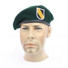 US Vietnam Special Forces Green Beret with Badge. Replica AV972