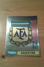 N°249 BADGE LOGO FOIL # ARGENTINA PANINI USA 94 WORLD CUP ORIGINAL 1994
