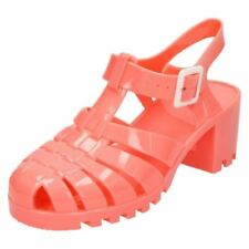 Beach Sandals Synthetic Heels for Women