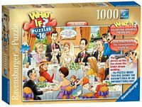 Ravensburger What If No16 The Wedding 1000 piece Jigsaw Puzzle - Collectible