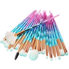 Pro 20pcs Makeup Brush Set Powder Foundation Eyeshadow Eyeliner Lip Brushes Tool