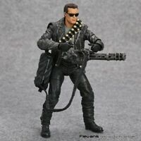NECA Terminator 2 Judgment Day T-800 Arnold Schwarzenegger Toys Action Figure
