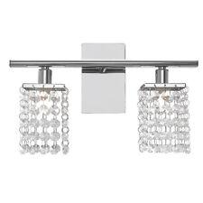 EGLO Crystal Wall Lamp Pyton Living Room Silver Lighting Modern Design 2 Lights